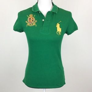 Polo Ralph Lauren Big Pony Green Polo